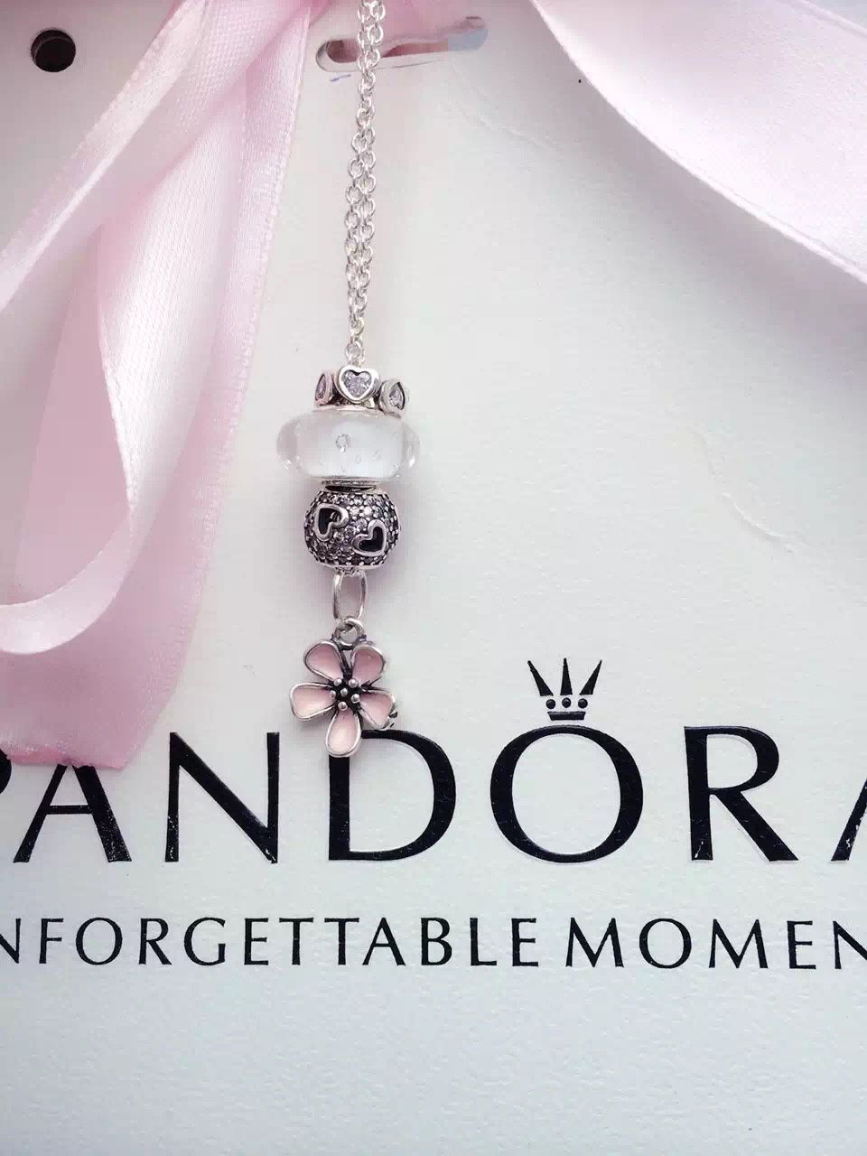 d44c1f1e6 50% OFF!!! Pandora Charm Necklace. Hot Sale!!! SKU: CN01014 ...