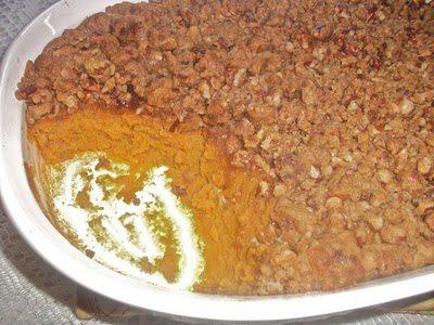 Sweet Potato Casserole Recipe #sweetpotatocasserole