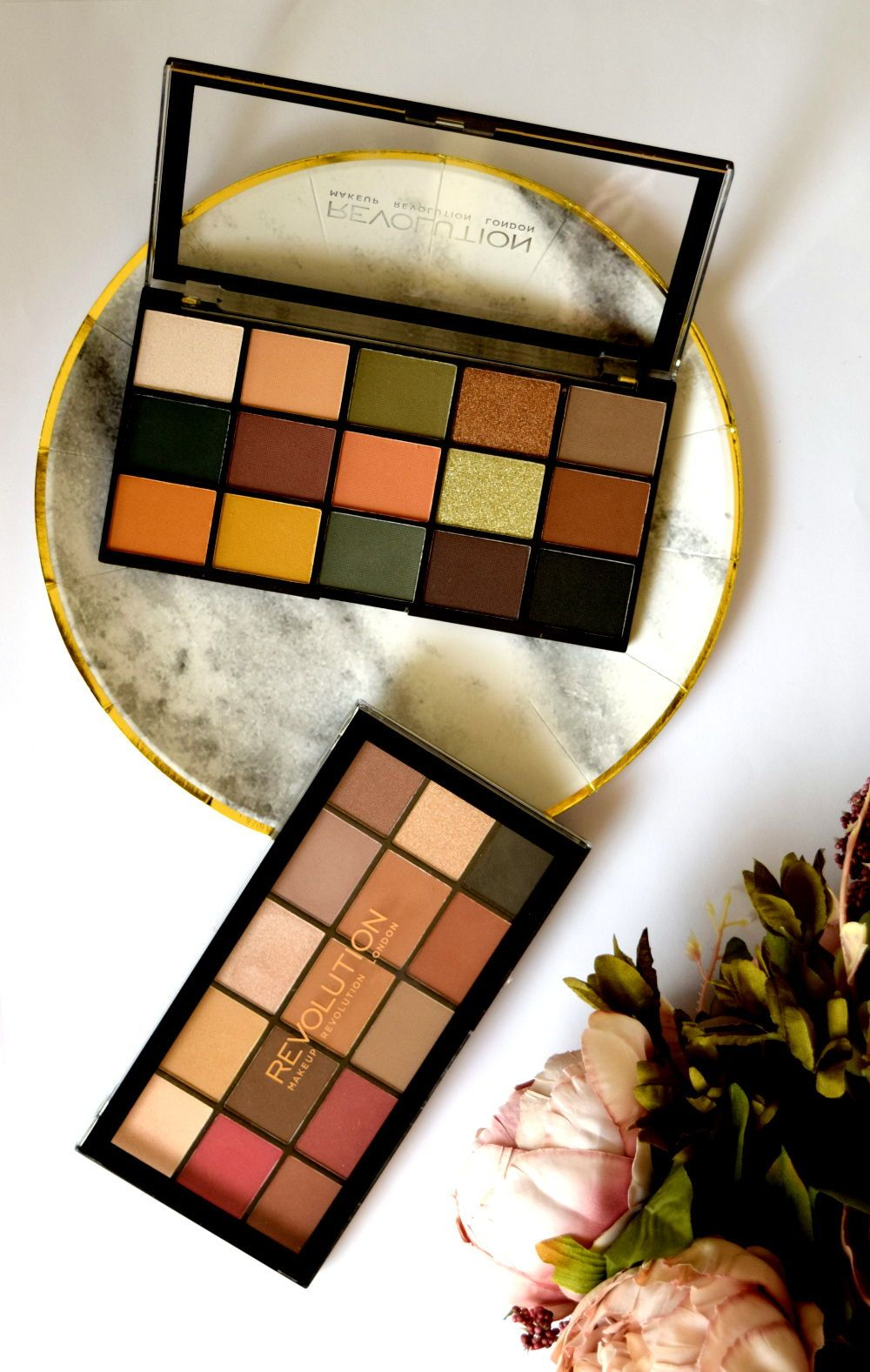 MAKEUP REVOLUTION Reloaded Palettes Swatches + Review