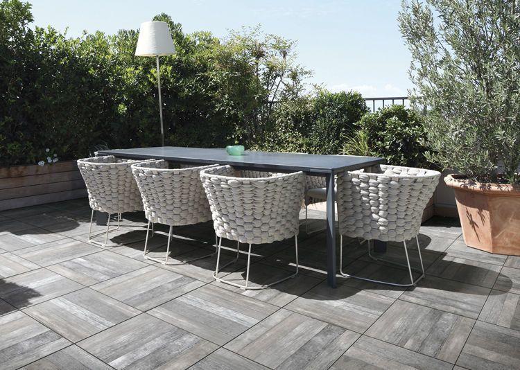 De juiste terrastegel maak uw dag warm en zonnig terras