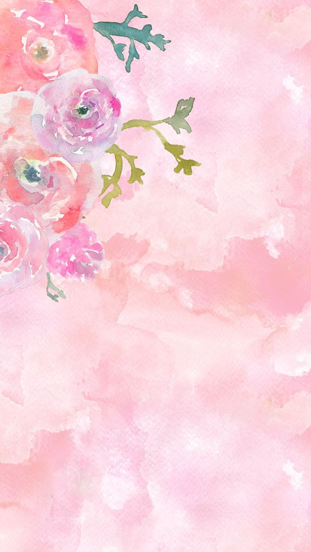 Free Mix Watercolor Iphone 5s Wallpapers In 2020 Iphone 5s