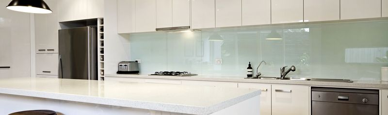 White Kitchen Splashback white contemporary kitchen with island | kitchens | pinterest