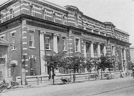 Keijo (Seoul): Chosen Industrial Bank Headquarters, circa 1930 조선식산은행 본점