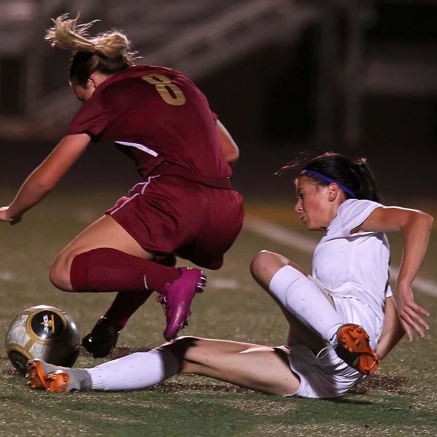 Sometimes achieving your goals means you have to approach your opponent from a different angle! #slidetackle #hardwork #skills #soccer #TheDalleyLama  And yes that's my daughter making the slide tackle @bddiizzle11