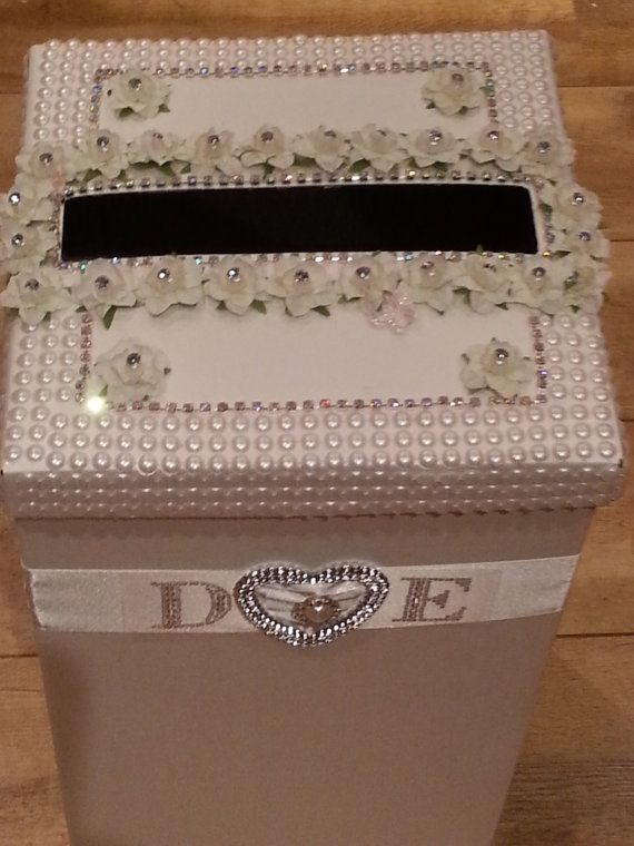 Wedding Card Post Box Birthday Christening Anniversary Party Wishing