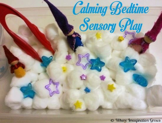 Simple Calming Sensory Box for Kids | Where Imagination Grows