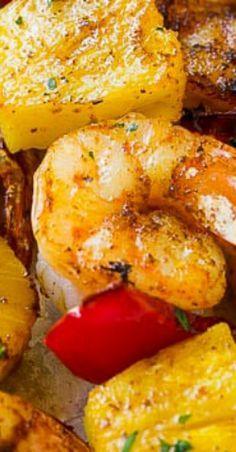Jerk Shrimp Kabobs # #jerkshrimp