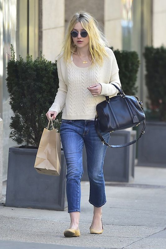 9f5eedbcce 10 Reasons Elle and Dakota Fanning Should Be Your Denim Style Icons  It s  not just that Dakota and Elle Fanning have a lot of denim — it s that they  wear it ...