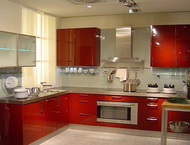 Picture Modular Kitchens Nalagandla Gachibowli In Hyderabad New Modern Kitchen Interiors Red Kitchen Cabinets Contemporary Kitchen Design