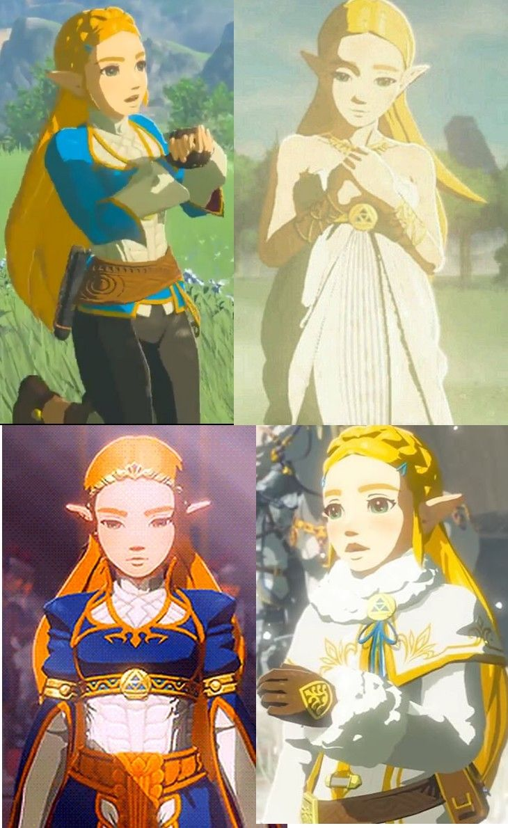 All Princess Zelda S Outfits From Breath Of The Wild The Design Of This Game Is So Awesome Zelda Costume Legend Of Zelda Legend Of Zelda Breath