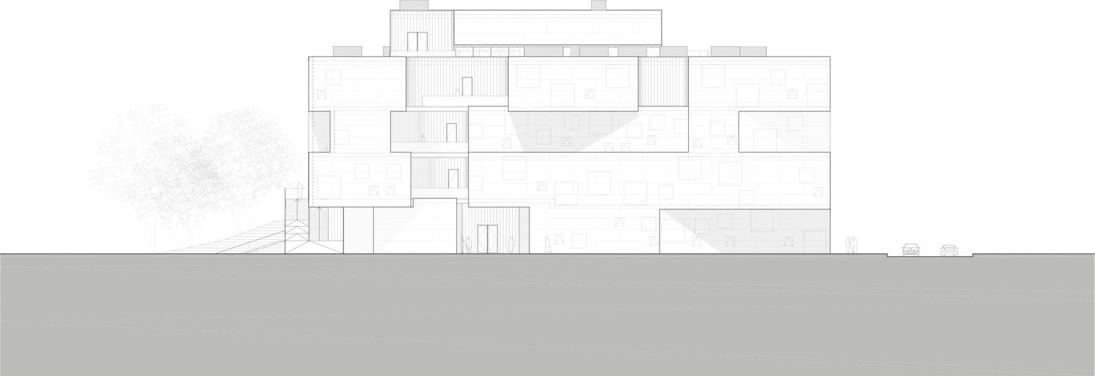 Gallery of Visual Arts Building at the University of Iowa / Steven Holl Architects - 20