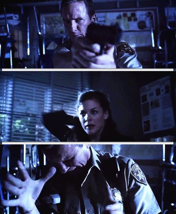 Teen Wolf Season 3 Episode 9 Sheriff Stilinski (Saves Lydia Martin) and Jennifer Blake