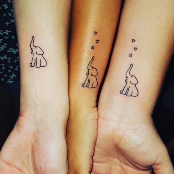 Pin En Tatuajes De Elefantes