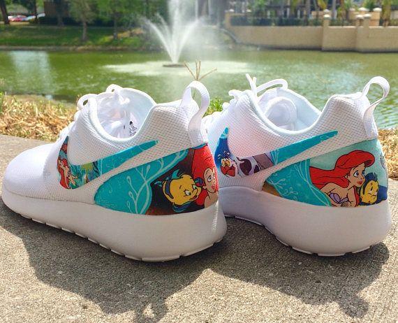 68934f3881655 The Little Mermaid Custom Nike Roshe in 2019