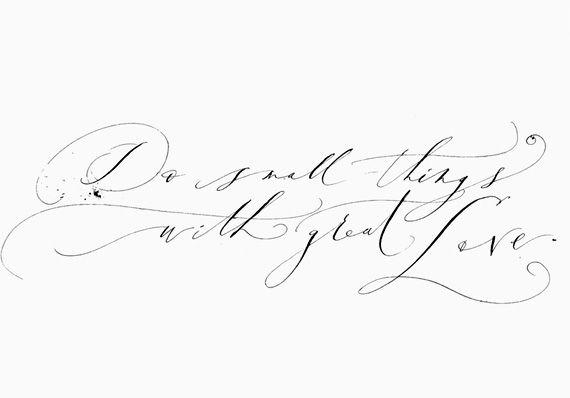 modern calligrapher