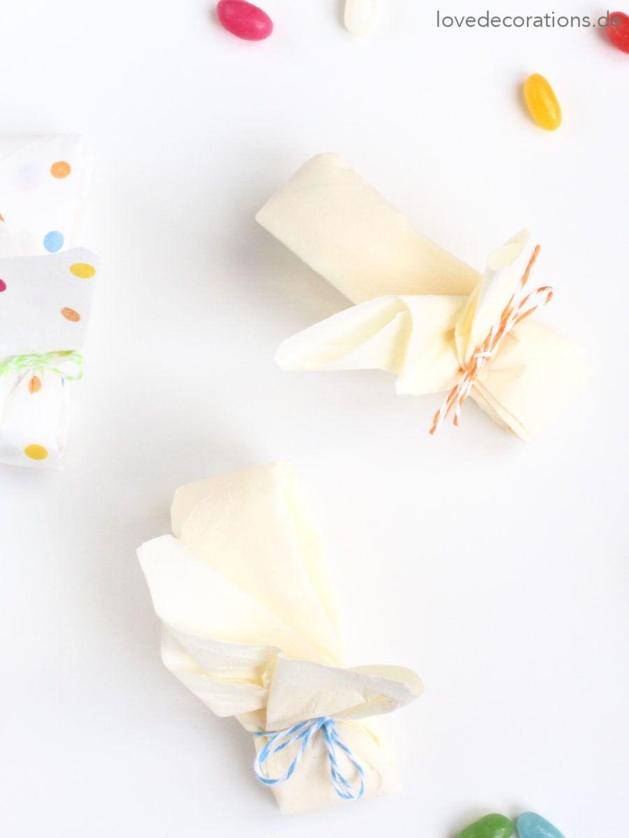 DIY Napkin Folding Bunny #2   DIY Servietten Häschen #2
