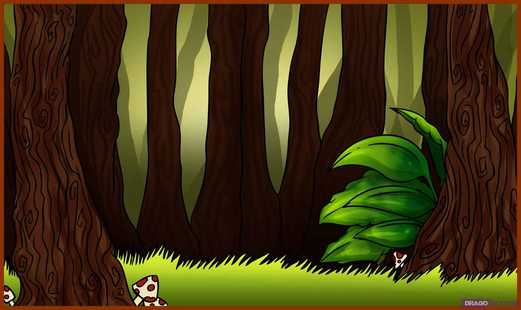 Cartoon forest - Google Search | She Kills Monsters ...