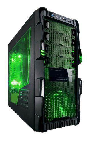 Apevia X Hermes No Power Supply Atx Mid Tower Black Ebay Desktop Pc Cases