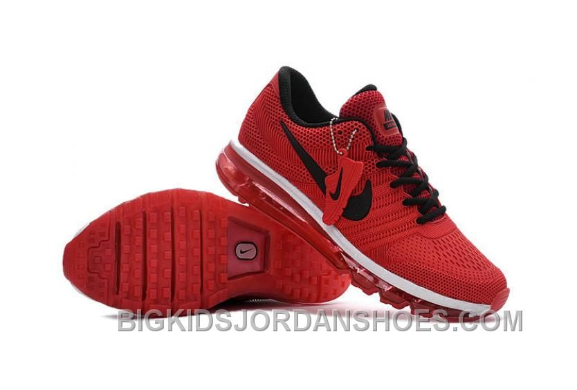 more photos bb1f6 24aa9 Men s Woman s Nike Air Max 2017 KPU Running Shoes Black Crimson   1-1709AXMU-40  -  72.00