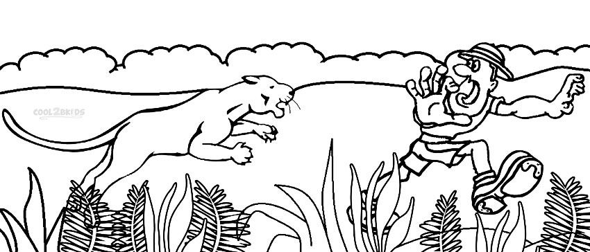 Hunting Coloring Pages Coloring pages, Printable