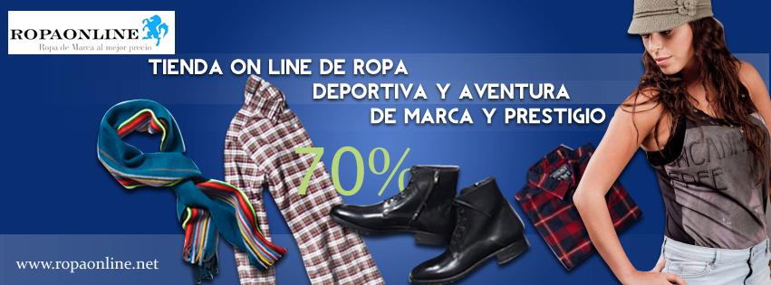 ropa de marca on line super descuentos 70%