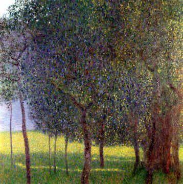 Gustav Klimt Fruit Trees 1901 Kunstdruck Leinwandbild Gerahmtes Bild Kunstdruck Landschaftsbau Landschaftsbilder