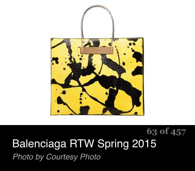 Love the boldness of this handbag!
