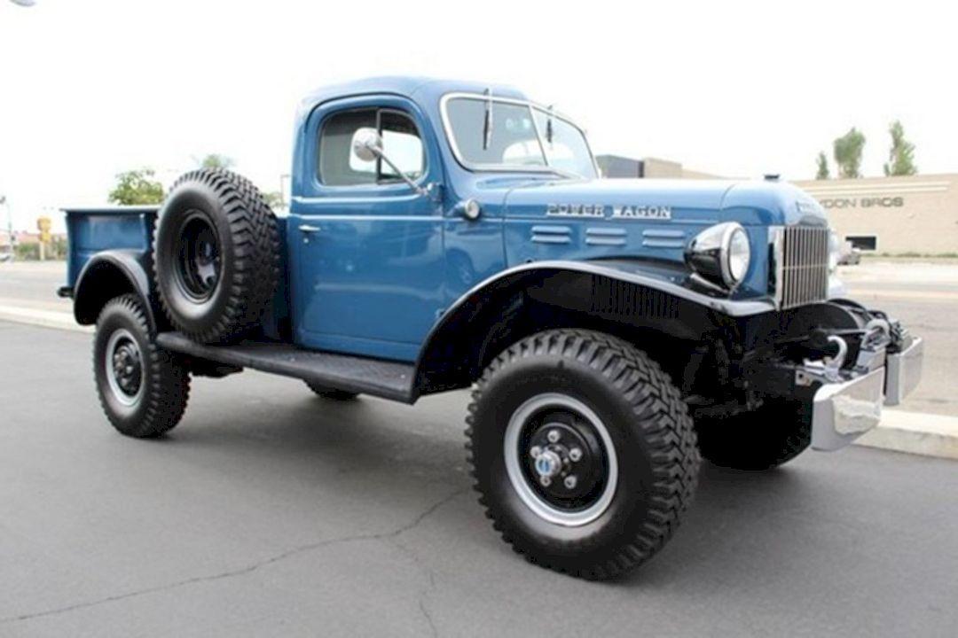 Coolest Vintage Dodge Power Wagon Trucks | Dodge trucks, Cars and ...