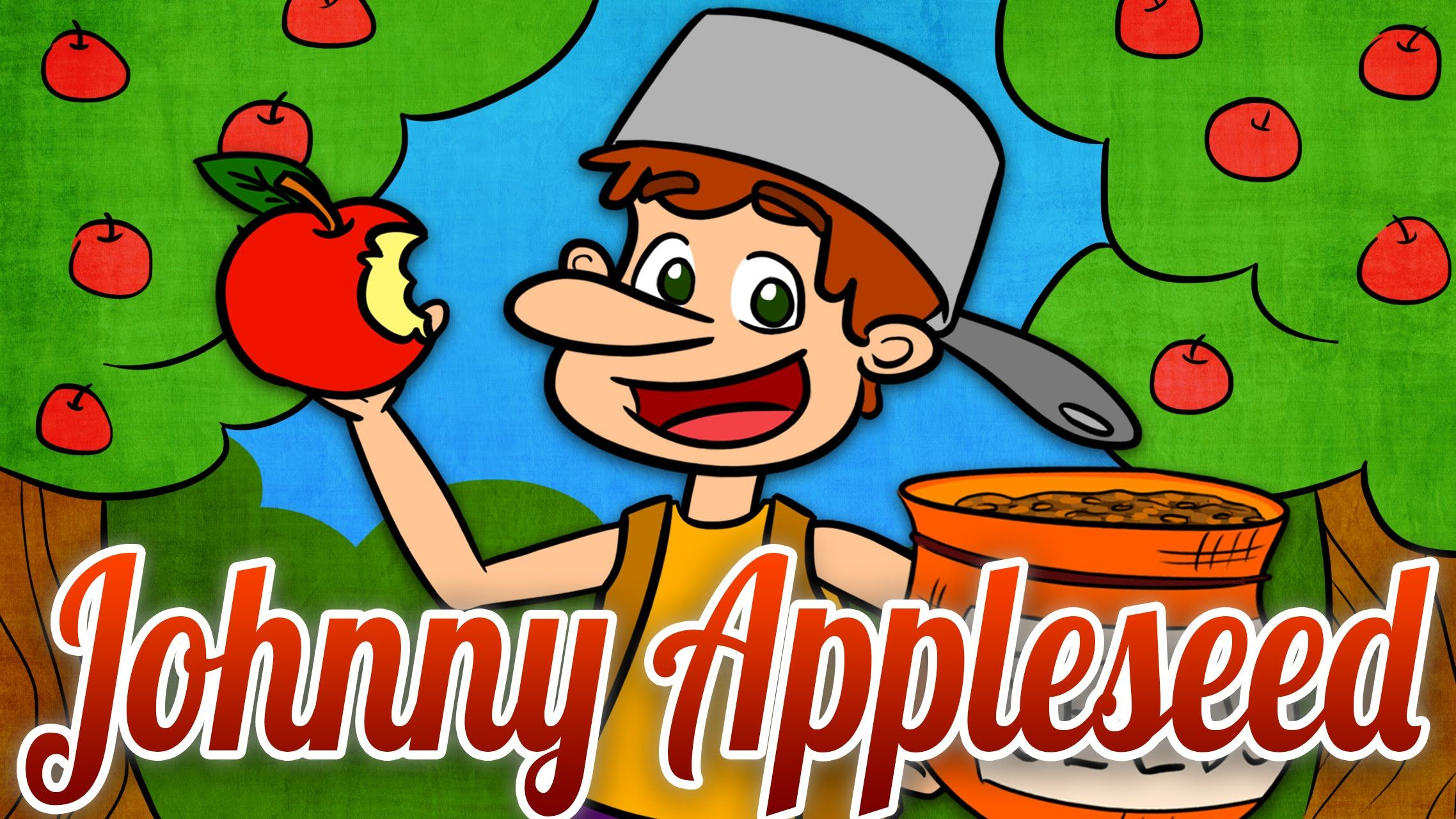 4 Minute Cartoon Explaining What Johnny Appleseed S