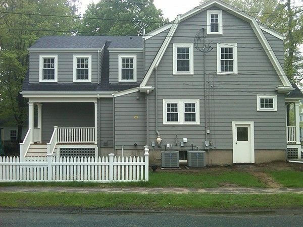 Gambrel Addition on Behance | Dutch colonial homes