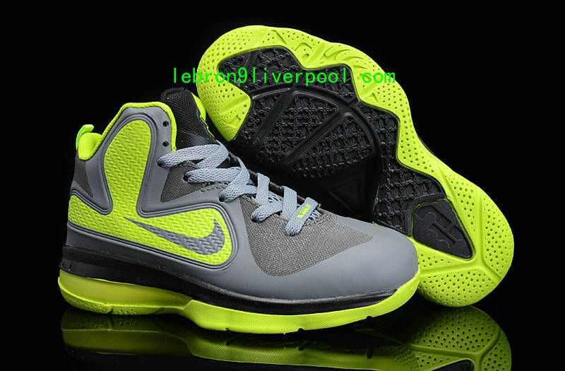 best cheap 0b4d9 ee11f More and More Cheap Shoes Sale Online,Welcome To Buy New Shoes 2013 Lebron 9  Kids Dunkman Wolf Grey Volt  Nike Basketball Shoes - Lebron 9 Kids Dunkman  Wolf ...