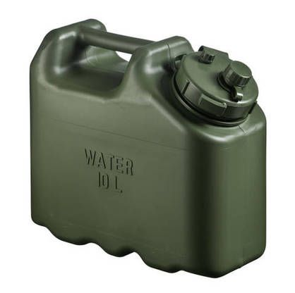 Scepter Military Water Can 10l Green Fuel Storage Military Canning
