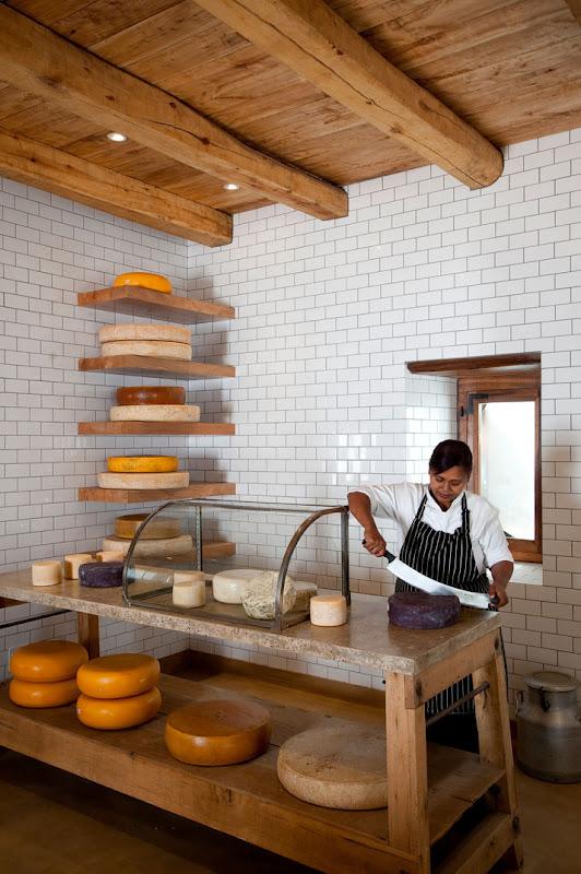 Babylonstoren, South Africa (Encore) Cheese shop, Cheese