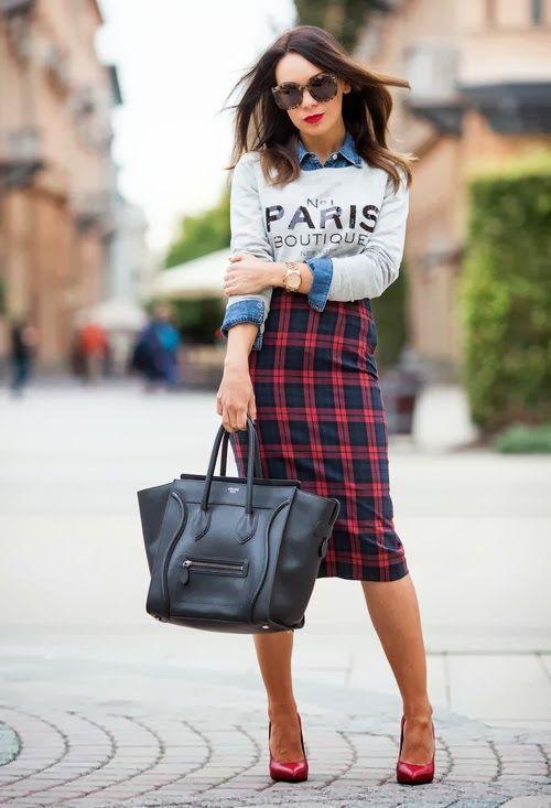 bab68dfe9 La Falda de Tubo un básico | Fashion | Faldas, Moda y Outfits