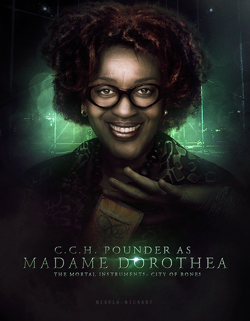 Madame Dorothea is truly amazing. Though many call her a monster, she was only possessed by one. She was an innocent person, and it pains me to think that she died a villain in the movie. In my opinion, she needs more recognition. #TMIMovie