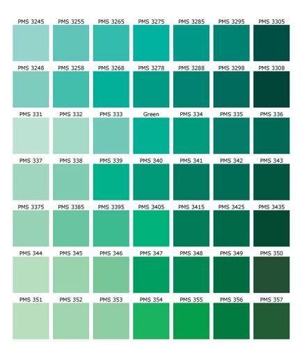 Soft Green Color Captivating Green Color Names Palette  Hue Blog  Pantone Shades Of Green 2017