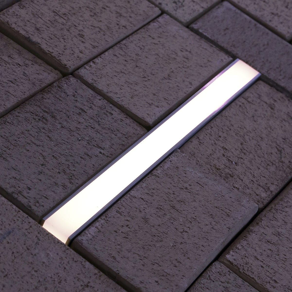 Recessed Floor Light Fixture Led Linear Outdoor Lane Trif