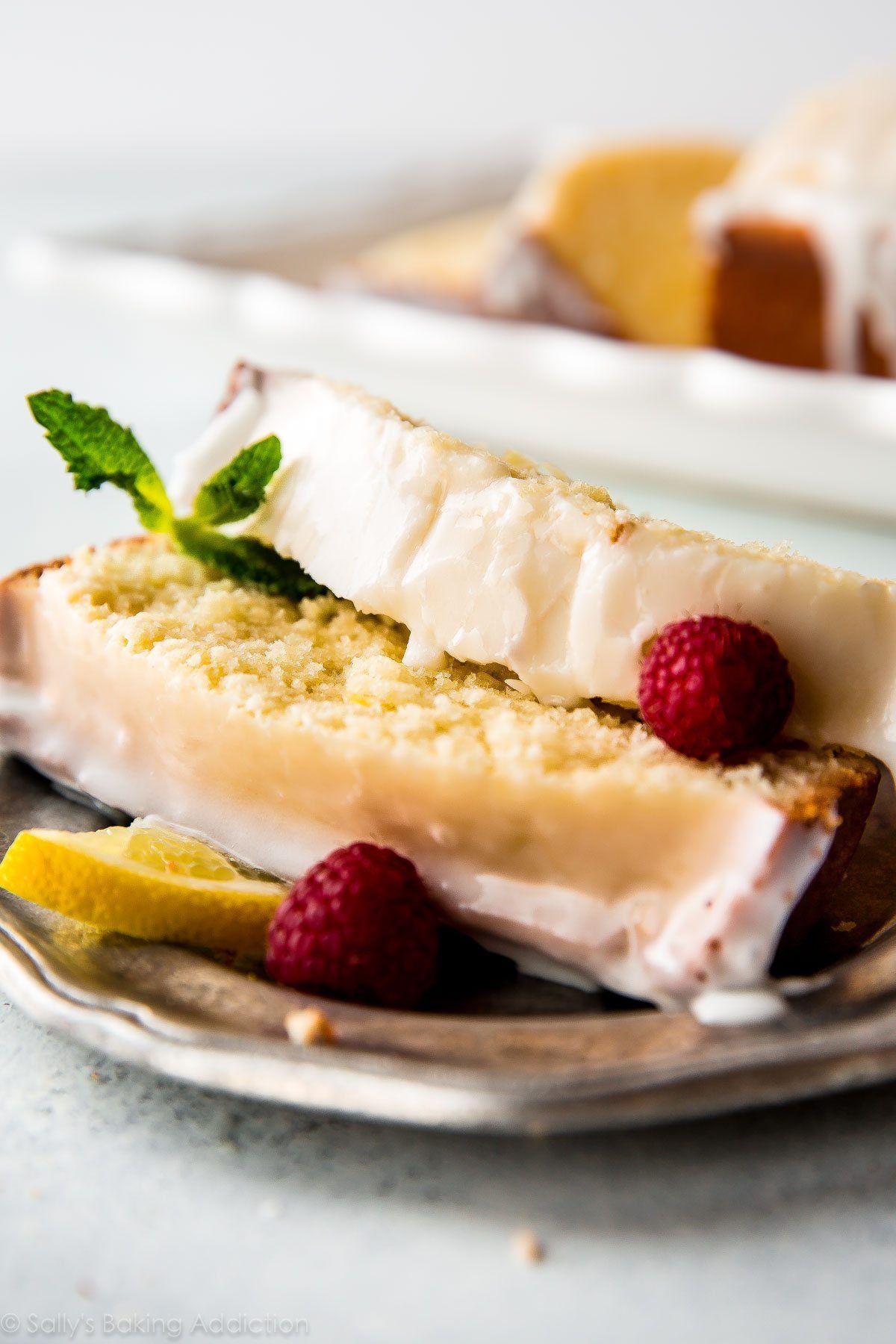 Iced lemon pound cake recipe deliciousness iced