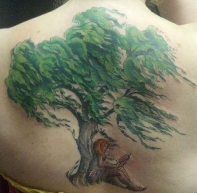 Image Result For Watercolor Willow Tree Tattoo Willow Tree