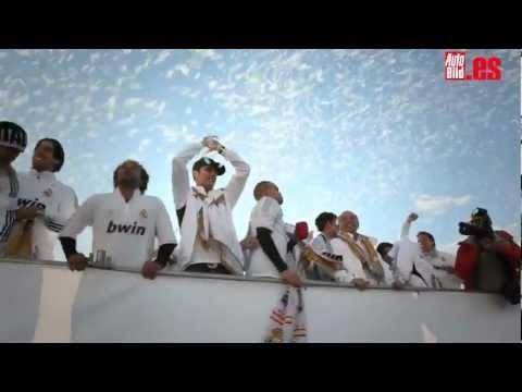 Real Madrid celebra la Liga 2012 con Audi - Autobild.es