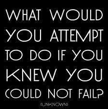 What would you attempt?