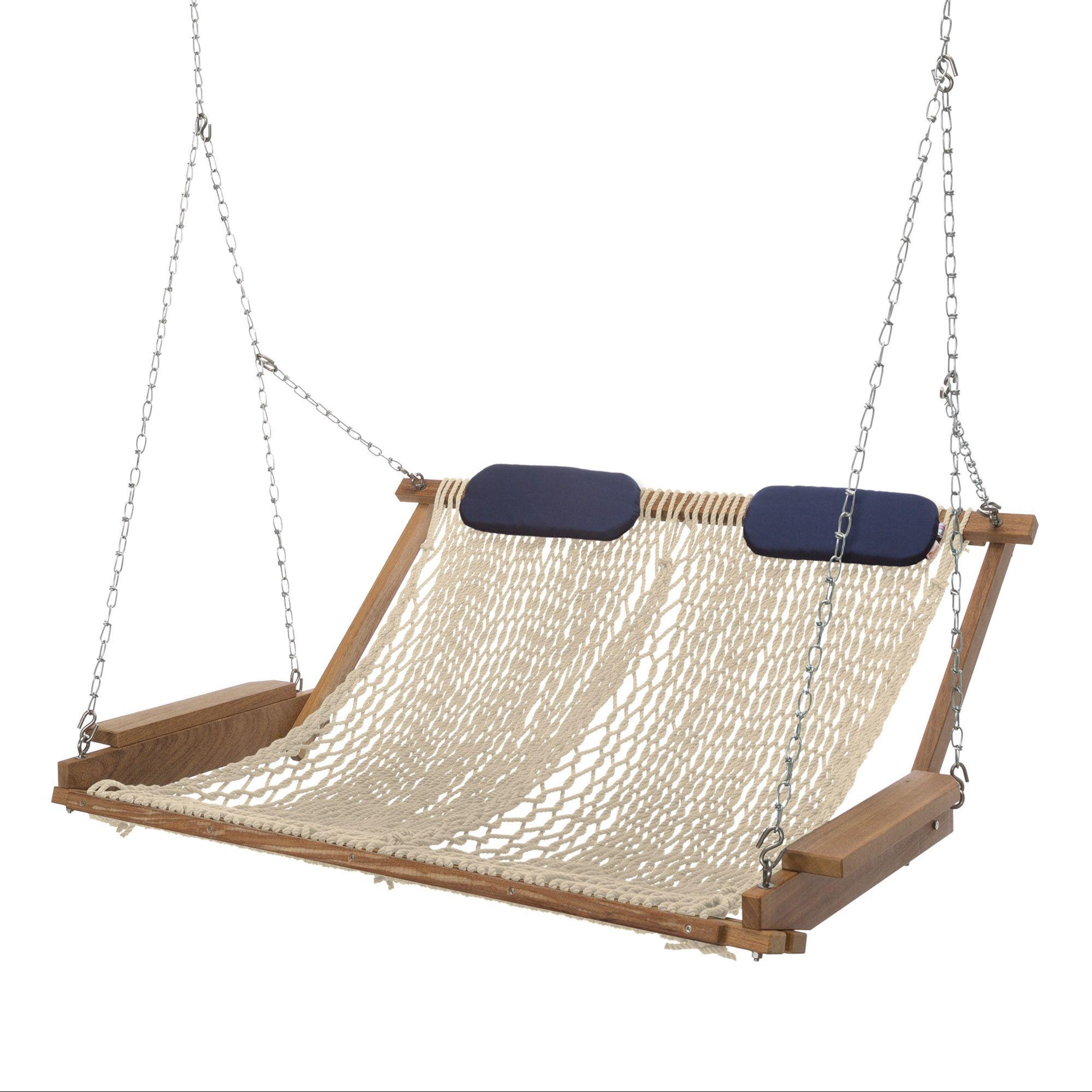 Double Aru Rope Porch Swing Diy Hammock