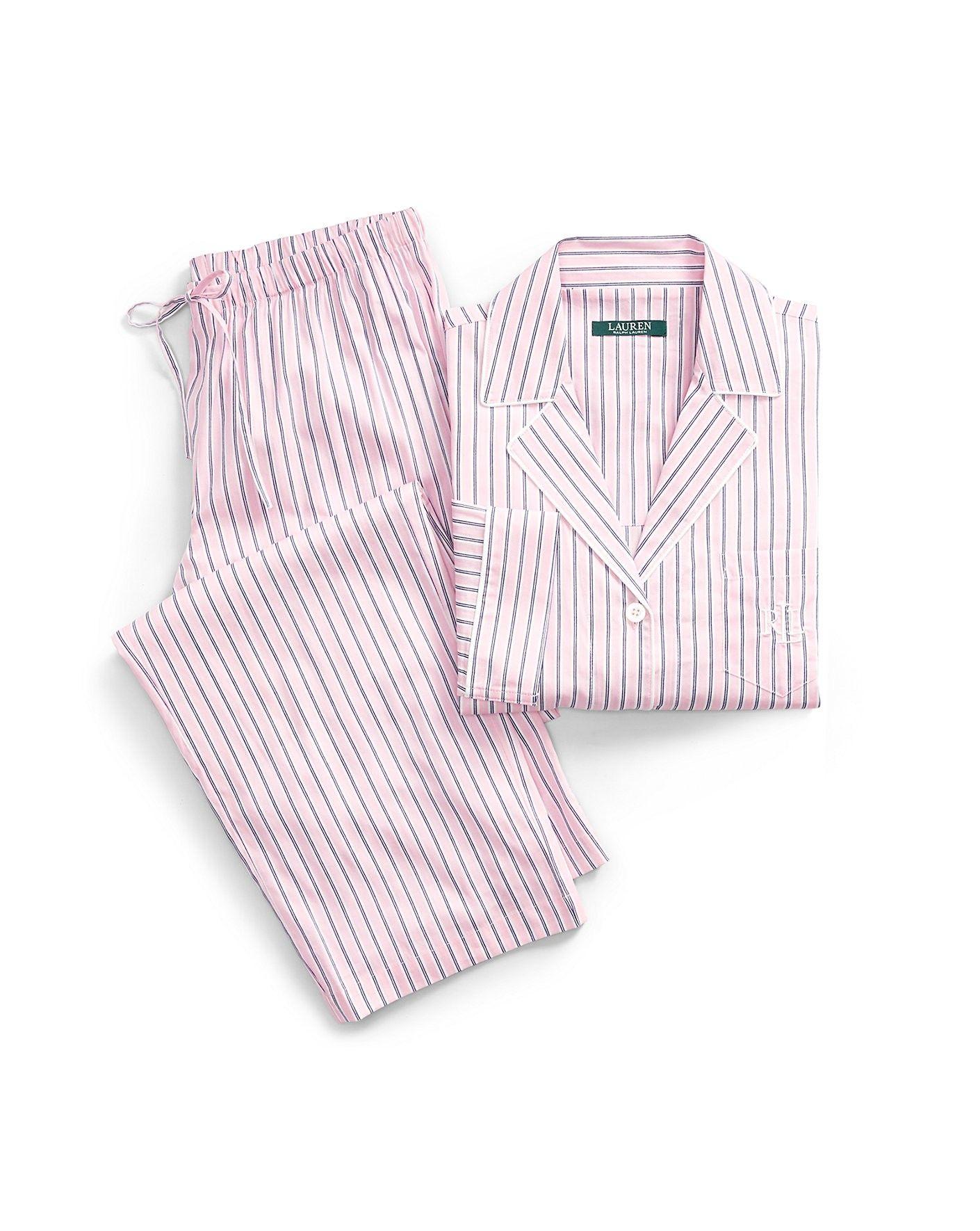 02f4bb8f47 RALPH LAUREN Lauren Petite Striped Lawn Pajama Set. #ralphlauren ...