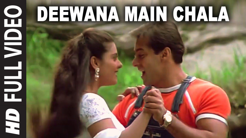 Deewana Main Chala Full Song Pyar Kiya To Darna Kya Salman Khan Kajol Hindi Movie Song Funny Movie Scenes Songs