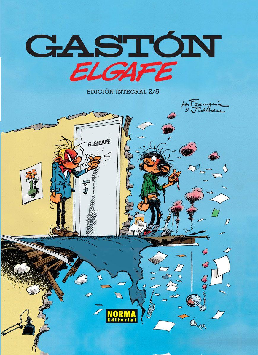 Gastón Elgafe Ed. Integral 2, de Franquin y Jidéhem.
