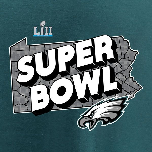 Philadelphia Eagles are going to the Super Bowl! ! !  flyeaglesfly Men s  NFL Pro Line by Fanatics Branded Green Philadelphia Eagles Super Bowl LII  Bound ... 1597316f4
