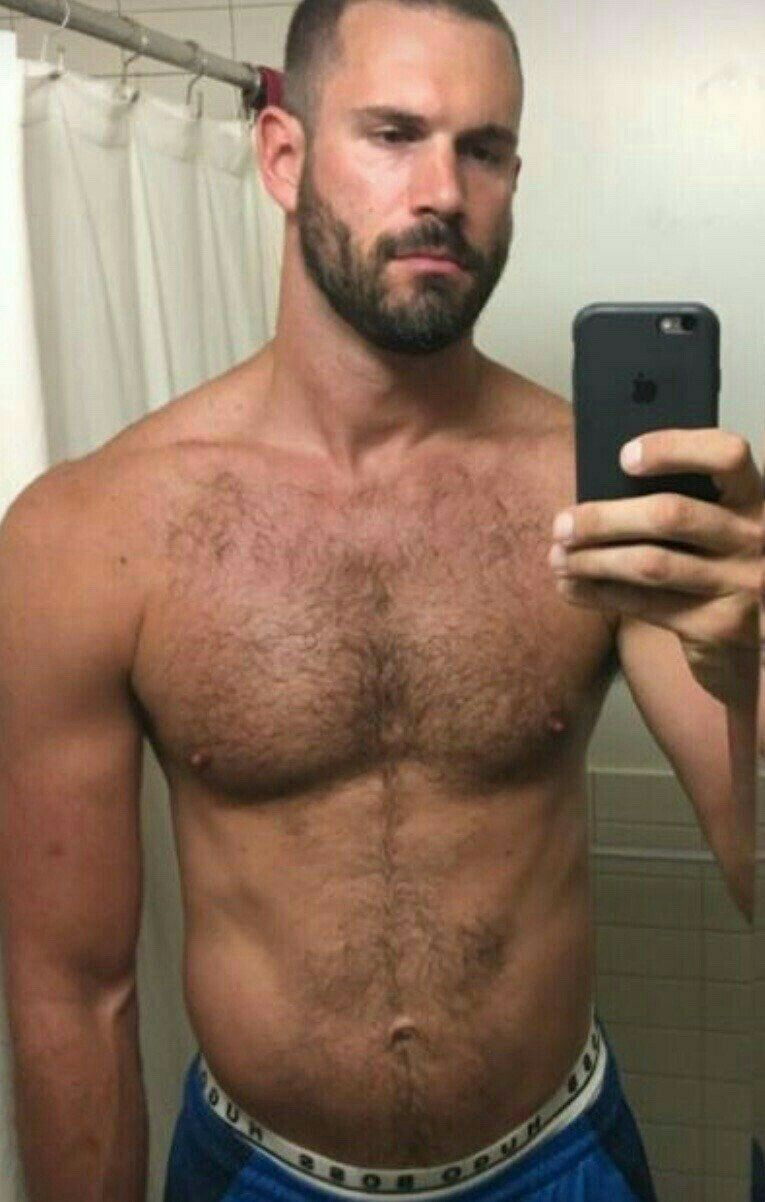 Sexy hairy gay guys