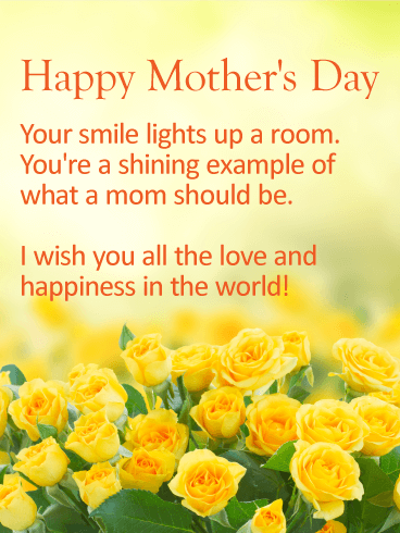 Wishing You All The Love Happy Mother S Day Card Birthday Greeting Cards By Davia Happy Mothers Day Messages Happy Mothers Day Wishes Mother Day Message