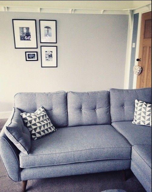 Zinc Left Arm Facing Corner Group Zinc Dfs Modern Grey Living Room Living Room Dfs Zinc Sofa