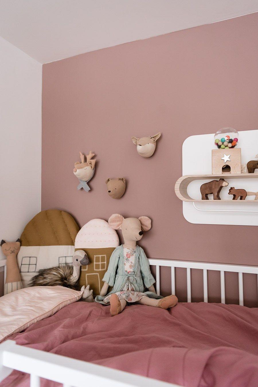 Unser Mädchenzimmer und wie es sich über die Jahre veränderte - Mini & Stil #kinderzimmerdeko
